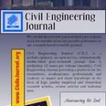 فراخوان دریافت مقاله ژورنال مهندسی عمران
