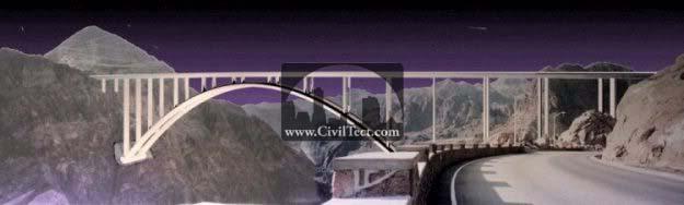 پل گذرگاه فرعی سد هوور (پل رودخانه کلرادو)