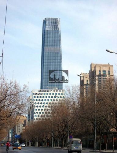 برج سوم مرکز تجارت جهانی چین (China World Trade Center Tower III)