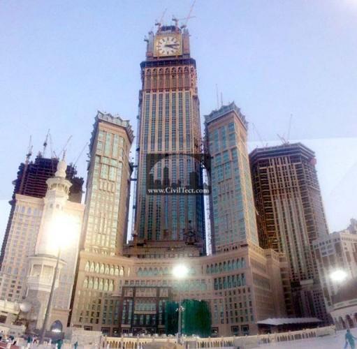برجهای ابراج البیت مکه (هتل رویال – برج ساعت)
