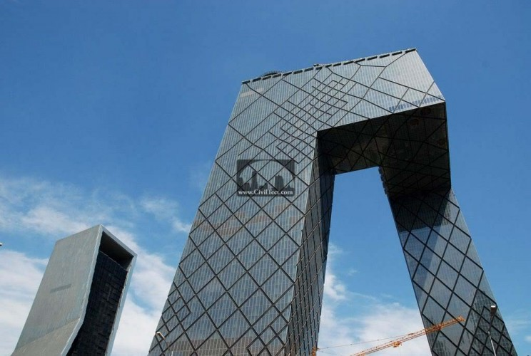 دفتر مرکزی تلویزیون چین – China Central Television Headquarters