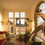 هتل The Giraffe Manor در کنیا