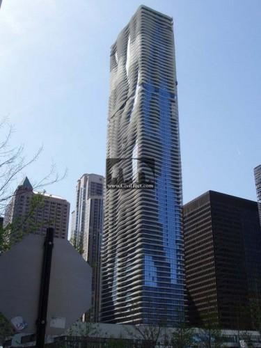 برج آکوآ (Aqua) شیکاگو