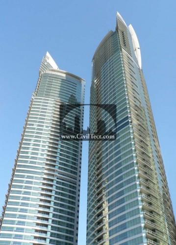 برجهای دریایی الفتان ( Al Fattan Marine Towers )