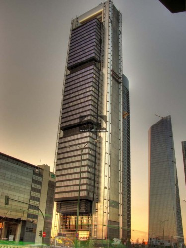 Torre Repsol در مادرید – اسپانیا