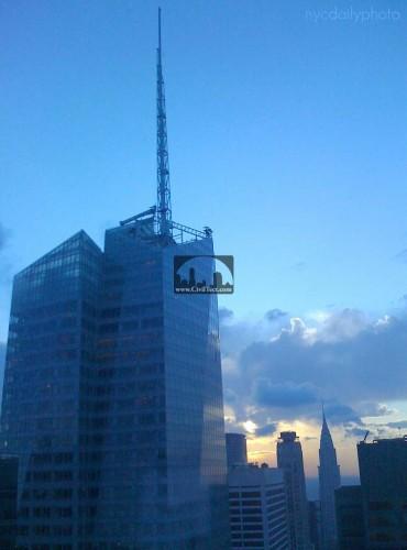 برج بانک آمریکا در شهر نیویورک (Bank of America Tower)