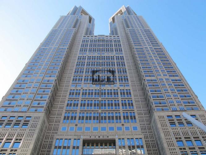 برج تالار شهر توکیو ( Tokyo City Hall) – توکیو ژاپن