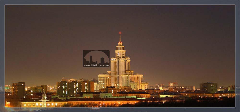 قصر پیروزی ( Triumph Palace ) مسکو