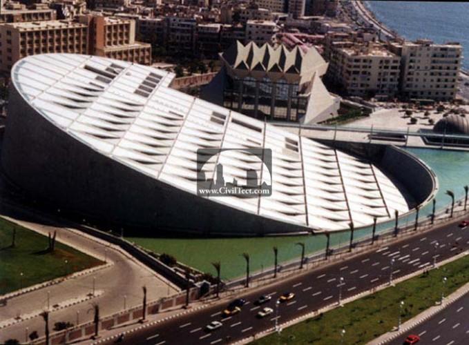 کتابخانه اسکندریه (Alexandria) – مصر
