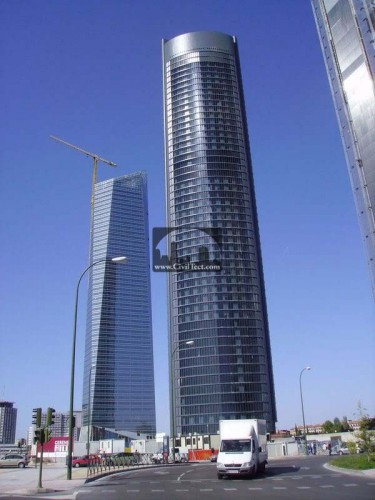Torre Sacyr Vallehermoso – مادرید اسپانیا