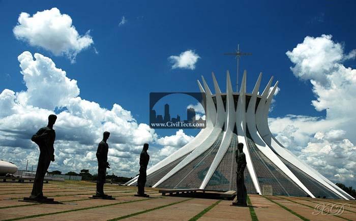 کلیسای جامع برازیلیا – برزیل