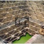 چند بااوری (Chand Baori) - هند (سازه ای برای دسترسی به آب چشمه)