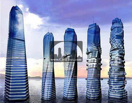 برج دینامیکی دبی ( Dubai Dynamic Tower ) – آسمانخراش چرخان