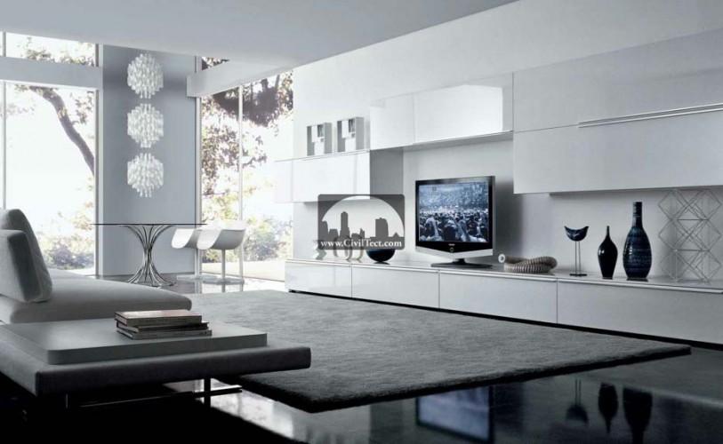 ۱۸ طرح معماری داخلی (دکوراسیون) مدرن برای اتاق نشیمن