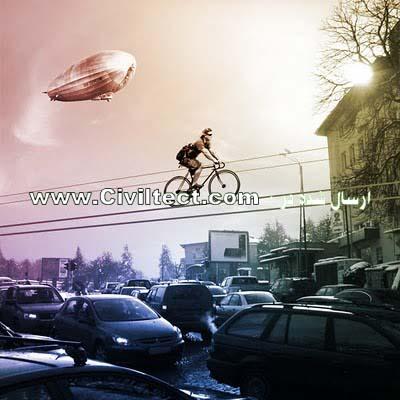 خطوط هوایی برای دوچرخه سواری!