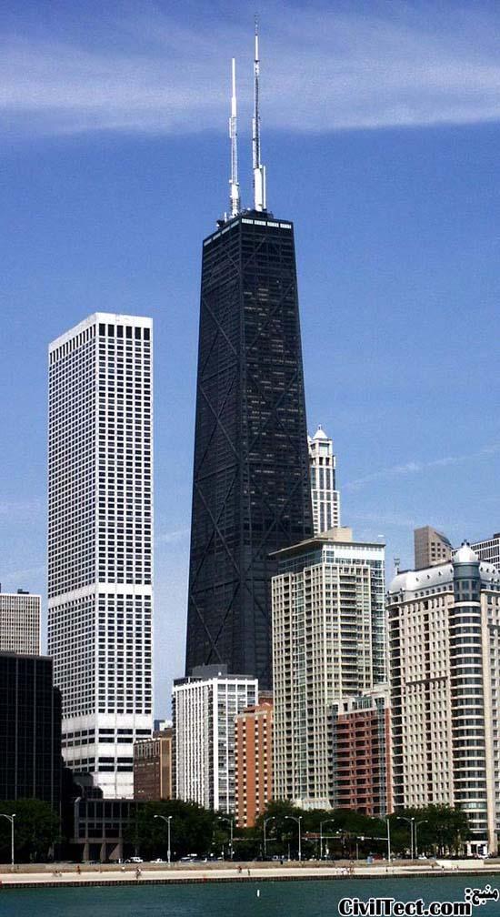 برج مرکز جان هنکاک در شیکاگو