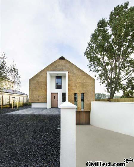خانه ای مدرن در ظاهری سنتی!