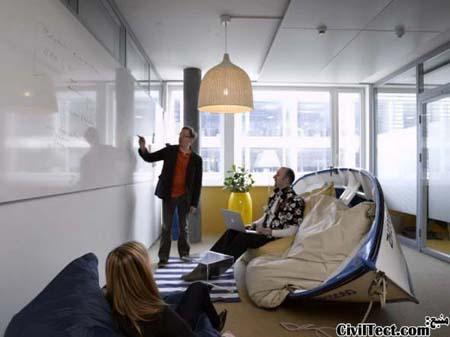 یکی دیگر از اتاقهای شرکت گوگل