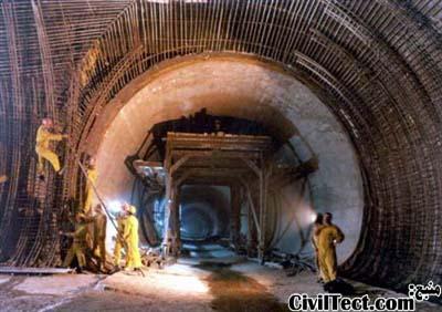 تصویری از زمان ساخت متروی تهران