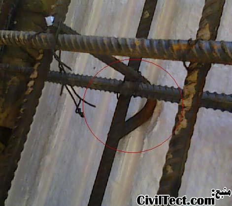 استفاده از سنجاقک نامناسب و تکیه کردن سنجاقک به دیوار
