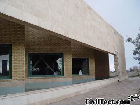سقوط سنگهای نما در زلزله بم