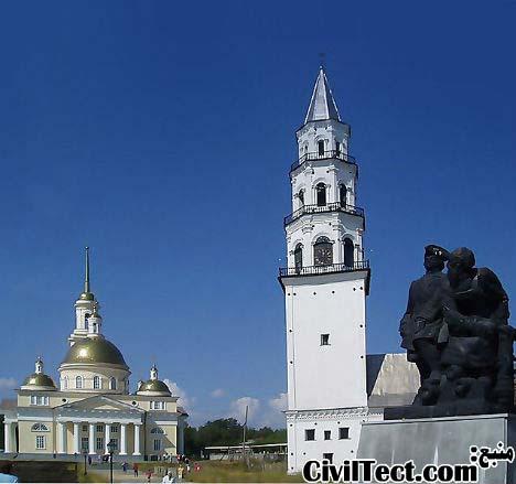 برج Nevyansk – روسیه