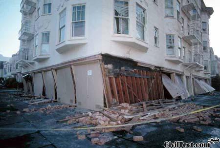 طبقه نرم - زلزله Loma Prieta 1989