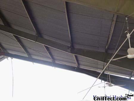 لهیدگی بال تیر بر اثر ضربه های وارد شده در زلزله