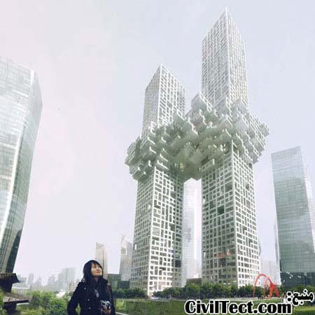 برجهای ابر - سئول کره جنوبی - The Cloud