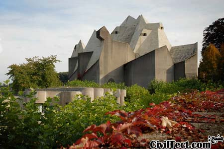 کلیسا در Neviges آلمان