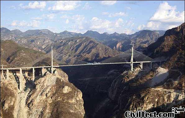 بلندترین پل کابلی جهان به زودی افتتاح میشود
