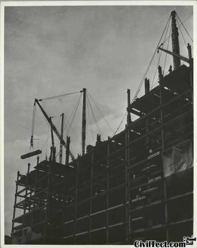 ساخت برج امپایر استیت در نیویورک
