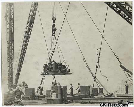 عکسی از زمان ساخت ساختمان امپایر استیت - بزرگترین ساختمان وقت