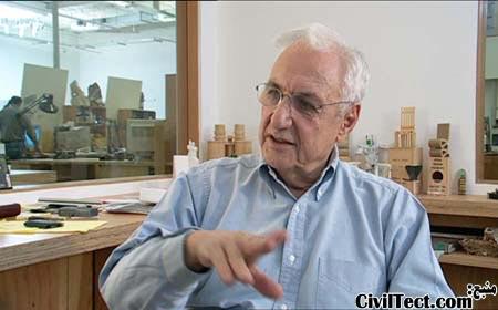 Frank Gehry (فرانک گهری) – کانادایی/آمریکایی