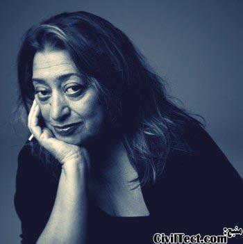 Zaha Hadid (زاها حدید) – انگلیسی/عراقی