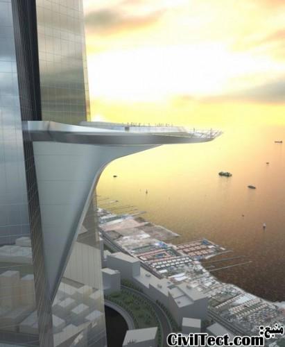 تراس آسمان برج Kingdom عربستان صعودی