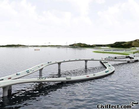 پلی که مشکل رانندگی در چپ و راست را حل میکند!