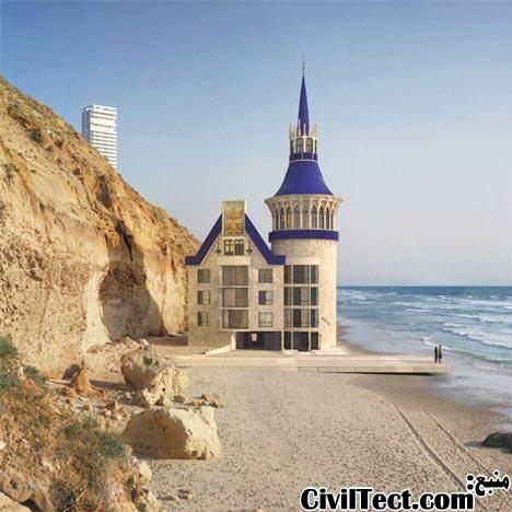 کلیسا در ساحل