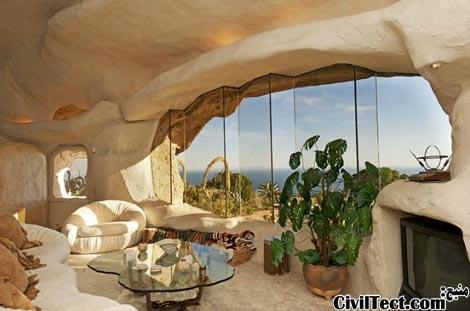 معماری نامنظم - معماری به سبک خانه های عصر حجر