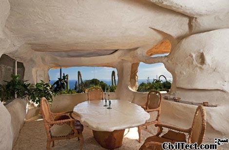 معماری عجیب خانه مالیبو
