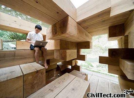خانه نهایی چوبی توسط Sou Fujimoto