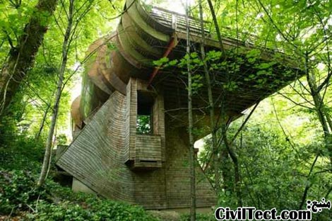 خانه چوبی - معرفی زیباترین خانه های چوبی دنیا