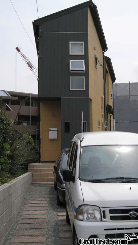 کم عرض ترین خانه های ژاپن