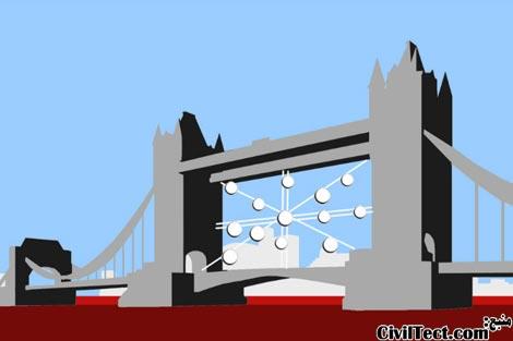 طرح پیشنهادی قرارگیری هتل بین پل برج لندن