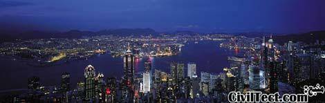 خط افق هنگ کنگ - آسمانخراشهای هنگ کنگ