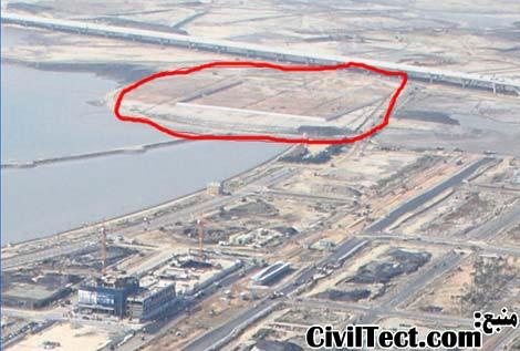 سایت محل ساخت برج 151 اینچئون