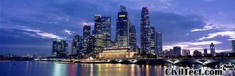 خط افق سنگاپور - آسمانخراشهای سنگاپور