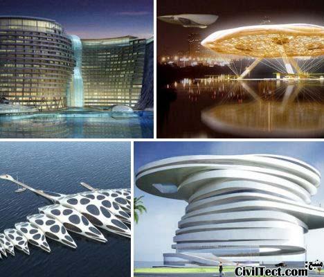 عجیب ترین و جالبترین طرح های معماری هتل (سری ۱)