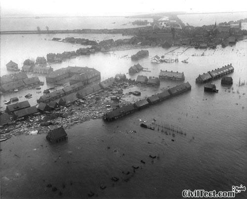 فاجعه های مهندسی: سیل ۱۹۵۳ دریای شمالی – هلند (قسمت ۱)