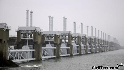 سد با قابلیت باز و بسته شدن برای مواقع بحرانی